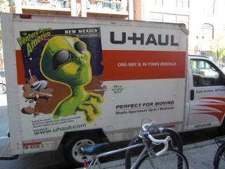U-Haul Werbung