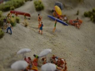 Strand Miniatur Wunderland
